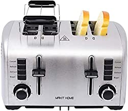 4 Slice Toasters,Small Toaster,4 slice Toaster Extra Wide Slot,Toaster Bagel,Bread Toaster 4 Slice Best Rated Prime Extra Wide,Stainless Steel Toaster,Cheap Toaster