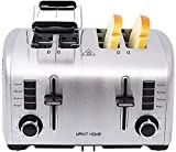 4 Slice Toasters,Small Toaster,4 slice Toaster Extra Wide Slot,Toaster Bagel,Bread Toaster 4 Slice...