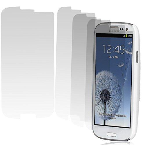 Wicked Chili 5X Displayschutzfolie UltraClear für Samsung Galaxy S3 / i9300 Display Schutzfolie (5 x Vorderseite) kristallklar