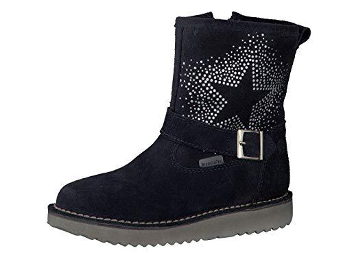 RICOSTA Pepino Mädchen Winterstiefel Cosma, WMS: Mittel, wasserfest, Winter-Boots Outdoor-Kinderschuhe gefüttert warm Kind-er,See,28 EU / 10 UK