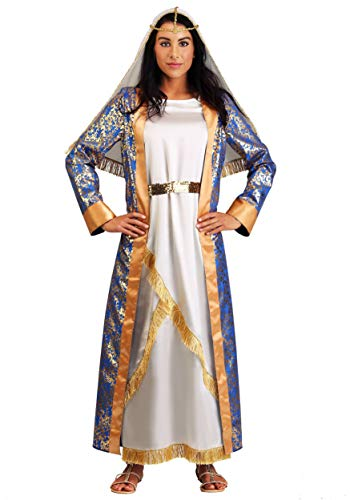 Women's Queen Costume Elegant Royal Queen Esther Dress Costumes for Women X-Large