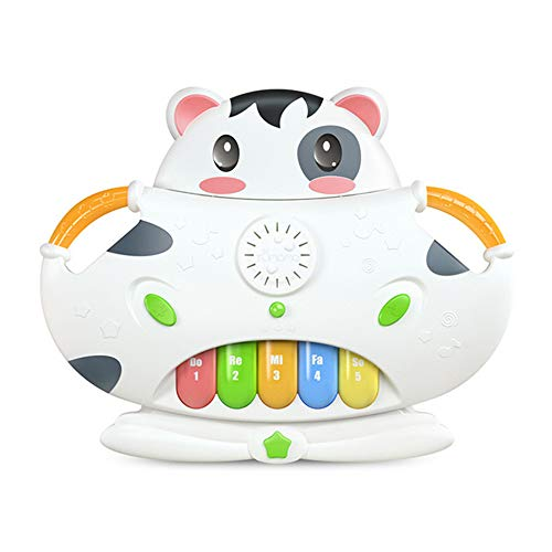 Piano Keyboard Toy for Kids, Boy Girls en Toddler First Birthday Gift, Keys Multifunctional Musical Electronic Toy Piano for Toddlers