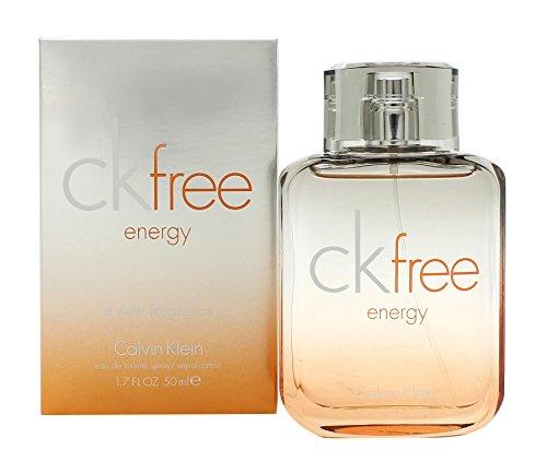 Calvin Klein Free Energie Eau de Toilette spray voor hem, 50 ml