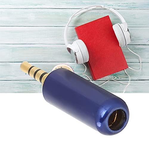 Enchufe equilibrado de 2,5 mm, máxima transferencia de señal y durabilidad Enchufe de auriculares de 2,5 mm para mezcladores Amplificadores de potencia Estéreos, computadoras, auriculares