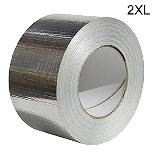 Gelentea Reparatie Tape Super Waterdichte Butyl Rubber Aluminium Folie Tape Sterke Lijm Voor Reparatie Dak Crack, Dakgoot en Gat