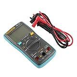 Shangya Inteligente multímetro Digital AC/DC Pantalla LCD Actual probador del Voltaje del medidor