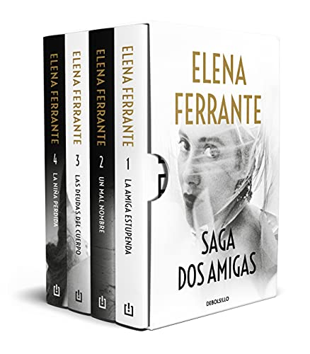 Saga Dos amigas (La amiga estupenda   Un mal nombre   Las deudas del cuerpo   La niña perdida) (Best Seller)