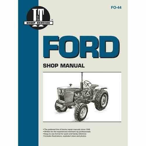 ford 5610 parts manual
