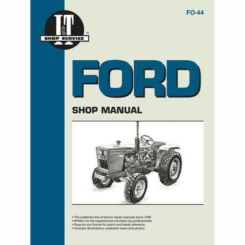 ford 1710 service manual - 4