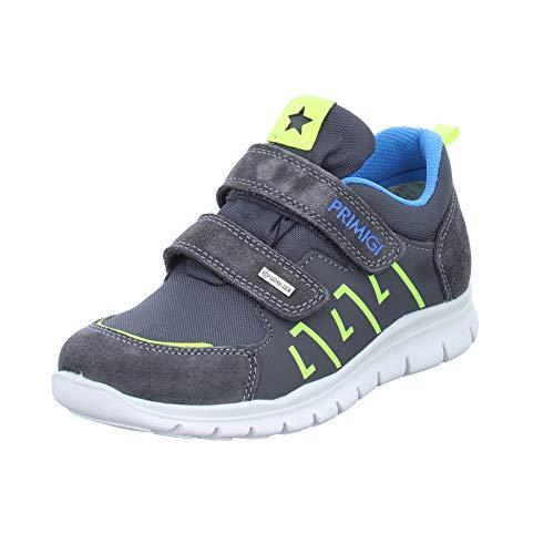 PRIMIGI Scarpa Bambino Goretex Sneaker, Grau (Gr.Sc/GRIG/Gr.Blurosso 5373111), 27 EU