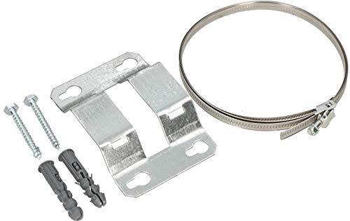 KOTARBAU® Einstellbare Wandhalterung bis 380 mm Durchmesser für Ausdehnungsgefäß Ausgleichsbehälter Druckkessel Wandbefestigung Wandhalter Halterung