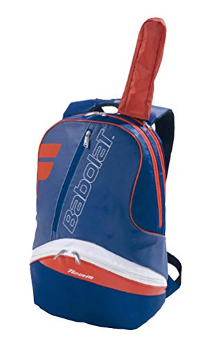 Babolat Backpack Bad Team Line Mochila, Adultos Unisex, Bleu Marine/Rouge (Multicolor), Talla Única