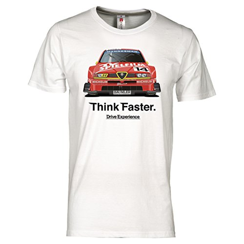 Drive Experience Camiseta Alfa Romeo 155 2.5 V6 Ti DTM ITC blanco...