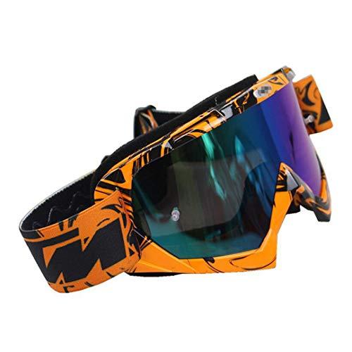 H-MetHlonsy Motocross Brille ATV DH MTB Dirt Bike Brille Motocross Sonnenbrille Für Motorradhelm B1