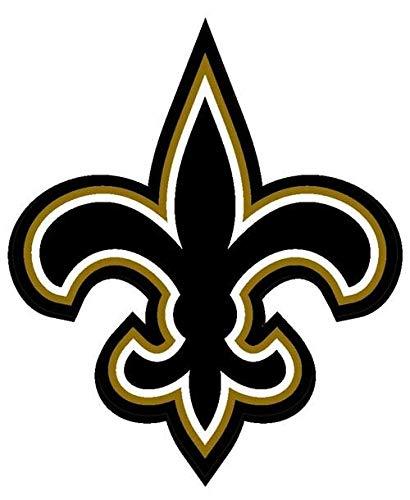 Magnet 4x4 inch Fleur De Lis Shaped Sticker -Decal New Orleans Saints Logo Louisiana la Magnetic Magnet Vinyl Sticker