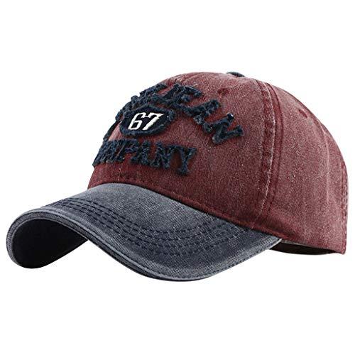 FRAUIT dames/heren unisex denim casual baseballcap mode gewassen doek baseballpet wilde letters hoed borduurwerk casual gebogen muts paardenstaart