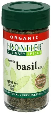 Max Limited time cheap sale 54% OFF Frontier Herb Basil Org Bttl