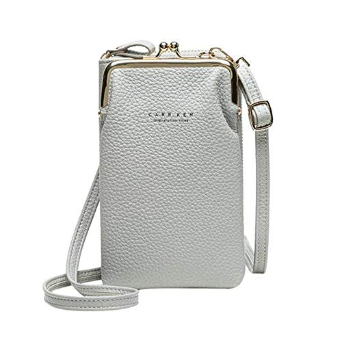 MMTY Women Phone Bag Solid Crossbody Bag High-Grade Soft Leather Fit All Occasions