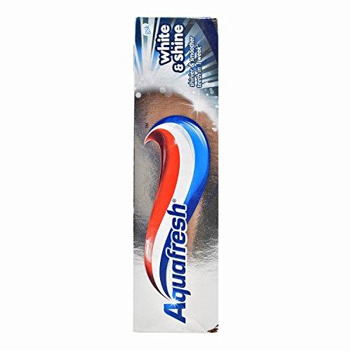 Aquafresh 75 Ml White And Shine Toothpaste - Pack Of 6