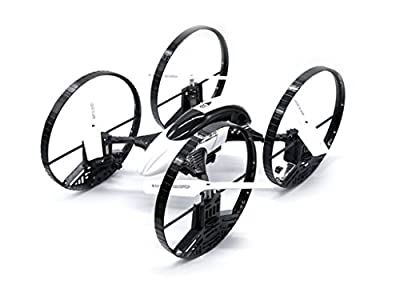 6 Axis 4 Channel (4CH) 2.4GHz Radio Controlled RC CF908 Stunt Quadcopter Drone - Ready to Fly (RTF), Does flips, spins and stunts by Magic Stores