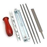 Kit de la herramienta de la herramienta de afilado de sierra Cadena de la cadena de la cadena Kit de la guía del kit de la guía de la cadena de la cadena de la cadena de la cadena de la cadena de la c