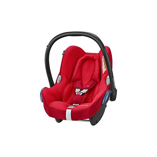 Maxi-Cosi CabrioFix Silla de Coche Grupo 0+ (0-13 kg), desde el Nacimiento hasta 12 Meses approx, Rojo (Vivid Red), 66 x 44.5 x 57