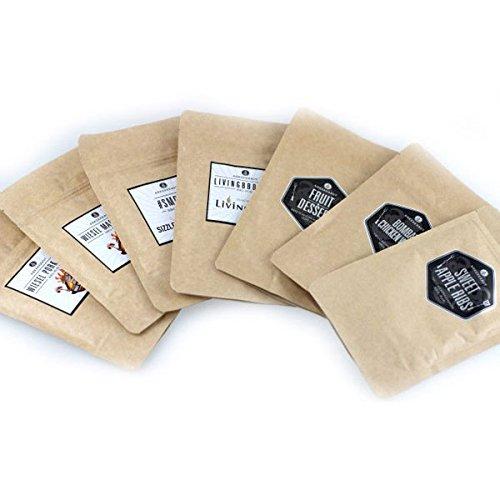 BBQ-Mini Test Paket mit 8 Rubs