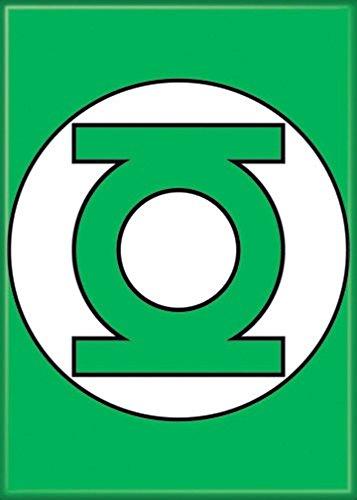 Ata-Boy DC Comics Classic Green Lantern Logo 2.5' x 3.5' Magnet for Refrigerators and Lockers