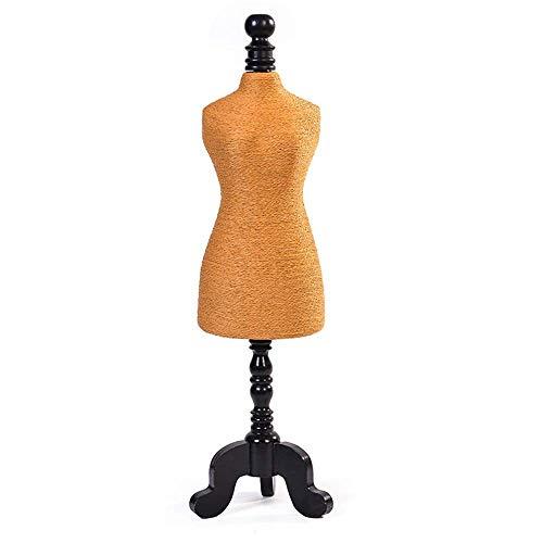 Collar Colgante Cadena Joyas Busto Expositor