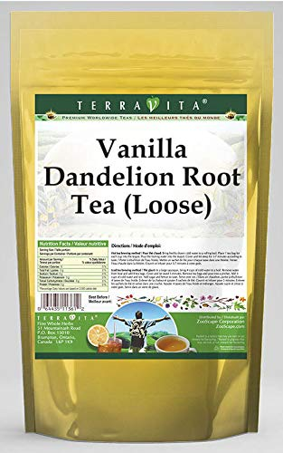 Vanilla Dandelion New popularity Root Tea Loose 4 558964 Indefinitely Pack - oz 3 ZIN: