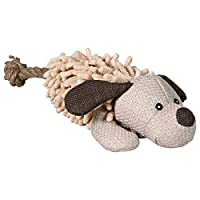 Particularly robust and high quality Made of plush and fabric Comes with sound For throwing, playing fetch and cuddling 30 cm toy height Good value High quality design