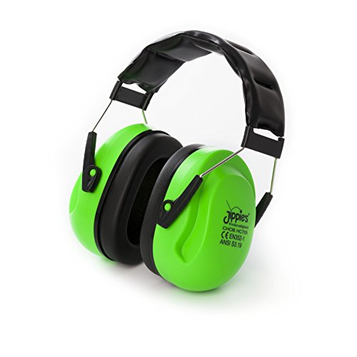 Jippie's CHONHC705 gehoorbescherming, groen