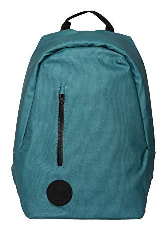 Smile - Mochila antirrobo The Rock para portátil de hasta 15,6 Pulgadas, con Puerto USB Incorporado, separadores Interiores. Mochila Escolar. Azul