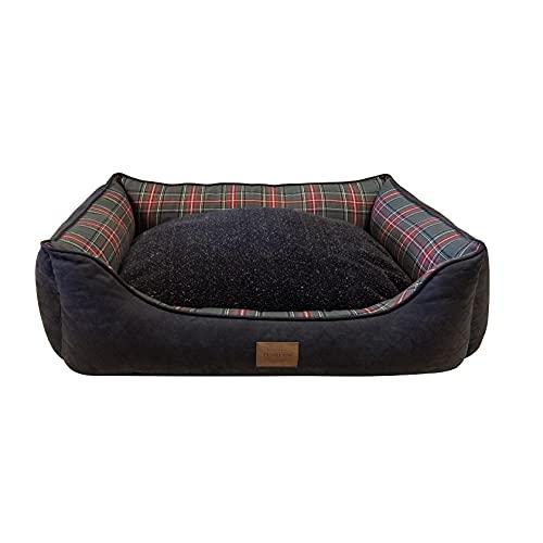 Pendleton Pet Classics Kuddler (M, Grey Stewart Plaid)