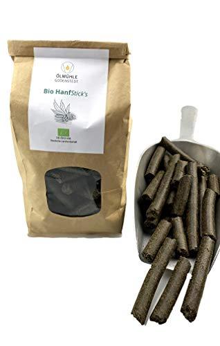 Ölmühle Godenstedt Bio Hanfpellets 2kg Hanfsticks 100% Bio ideal als Pferde Leckerli, direkt vom Hersteller
