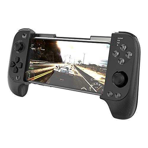 Manette de jeu sans fil Bluetooth Game Controller, pour Huawei Samsung Android Phone Ipad Manettes de jeu évolutives stick