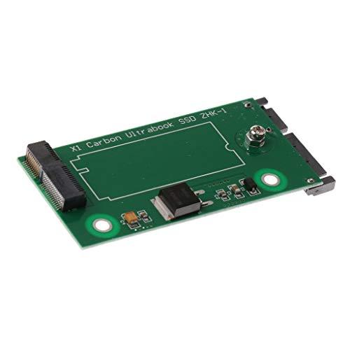 LXH-SH Tarjeta complementaria X1 Carbon Ultrabook Ssd ZHK-1 20 + 6 Pin mSATA for Tarjeta de conversión Sata