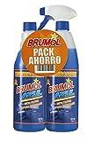 Brumol Duplo Desengrasante Azul con Pistola y Recambio - Paquete de 9 x 750 ml - Total: 6750 ml