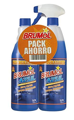 Brumol Duplo Desengrasante Azul con Pistola y Recambio - Paq