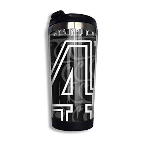 Ahdyr Edelstahl Reise Kaffeetasse, Gear 4 Ruffy Kaffee Reisebecher Tasse Edelstahl Vakuumisolierter Becher 13,5 Unzen