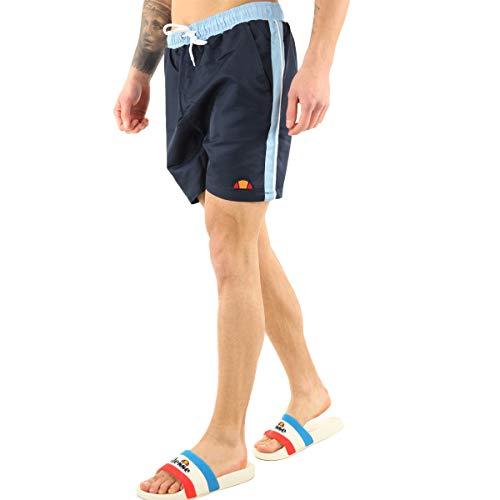 ellesse Badehose Herren Genoa Swim Short Blau Navy, Größe:M
