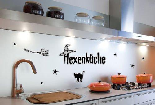 Wandsticker / Wandspruch - Hexenküche - Bogengröße: 67x23,5 cm
