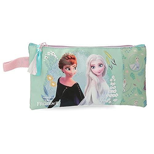 Disney Frozen Follow your dreams Astuccio blu 22 x 12 cm poliestere