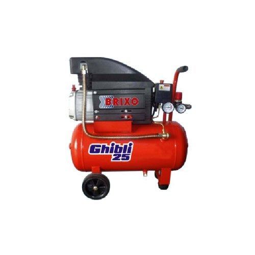Compressor Brixo 25 liter automatisch voor knutselwerk Ghibli 25