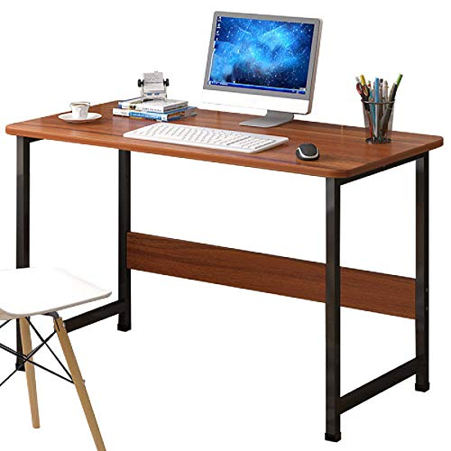 Escritorio de ordenador portátil Escritorio moderno Estación de trabajo Estudiante Mesa de estudio Dormitorio Estudiante Mesa de estudio Escritorio Perfecto para el hogar Oficina Estación de trabajo