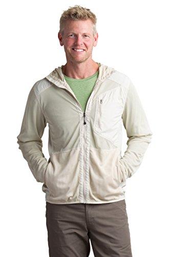 ExOfficio Men's BugsAway Sandfly Jacket, Bone, Medium