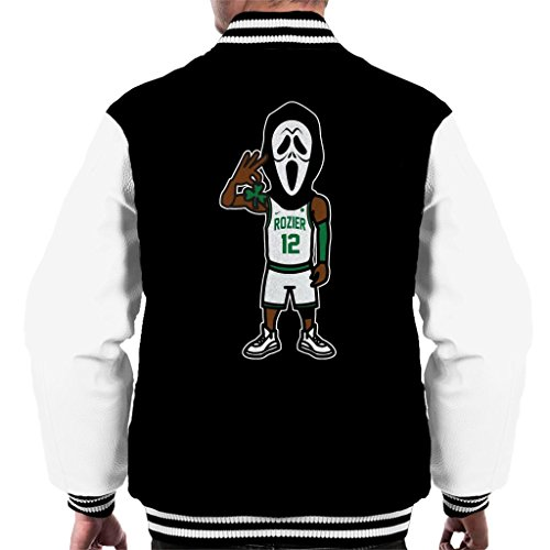 Cloud City 7 Scary Terry Scream Rozier Boston Celtics Men's Varsity Jacket