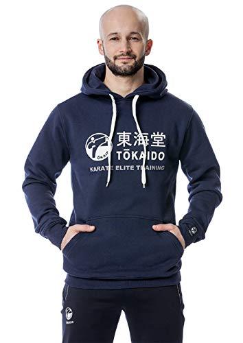 Tokaido Karate Hoodie Athletic blau Kapuzenpullover Hoody Herren (XL)