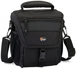 Lowepro Nova 160AW–Çanta (200x 110x 170mm, 0.52kg, 240x 175x 220mm, siyah, polyester)