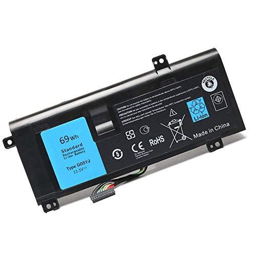 XITAI 11.1V 69Wh G05YJ Repuesto Batería para Alienware 14 A14 M14X R3...